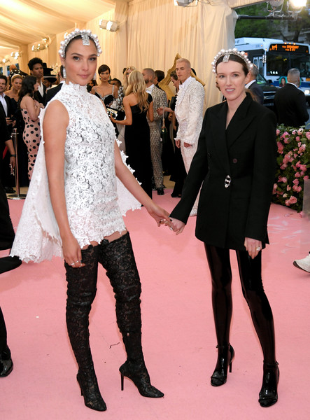 The 2019 Met Gala Celebrating Camp: Notes On Fashion - Arrivals [clothing,fashion,event,carpet,red carpet,flooring,haute couture,fashion model,dress,premiere,fashion - arrivals,clare waight keller,gal gadot,notes,fashion,new york city,metropolitan museum of art,met gala celebrating camp]
