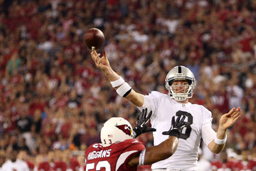 Clark Haggans Oakland Raiders v Arizona Cardinals