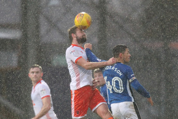 Clark Robertson Rochdale v Blackpool - Sky Bet League One
