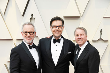 Clark Spencer Rich Moore 91st Annual Academy Awards - Arrivals