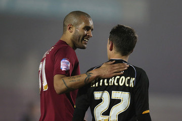 Clarke Carlisle Northampton Town v Bristol Rovers - npower League Two