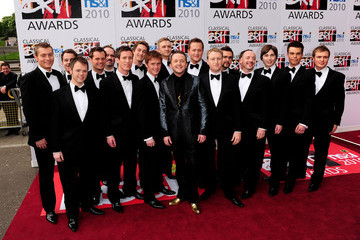 Only Men Aloud The Classical BRIT Awards 2010 - Red Carpet Arrivals