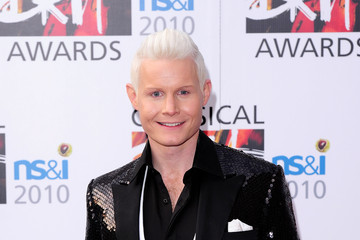 Rhydian Roberts The Classical BRIT Awards 2010 - Red Carpet Arrivals