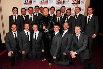 Only Men Aloud The Classical BRIT Awards 2010 - Winners Room