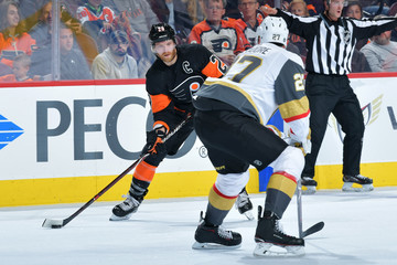 Claude Giroux Vegas Golden Knights vs. Philadelphia Flyers