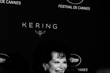 Claudia Cardinale Kering And Cannes Film Festival Official Dinner - Photocall - At The 71st Cannes Film Festival