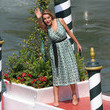 Claudia Gerini Celebrity Excelsior Arrivals During The 77th Venice Film Festival - Day 5