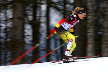 Claudia Nystad Cross-Country Skiing - Winter Olympics Day 4