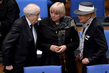 Claudia Roth Memorial Ceremony for Hans-Dietrich Genscher