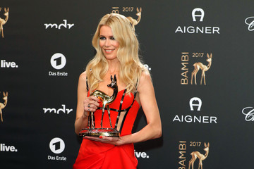 Claudia Schiffer Winners Board - Bambi Awards 2017