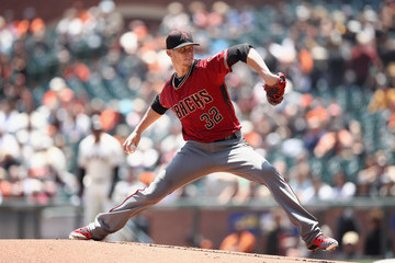 Clay Buchholz Arizona Diamondbacks Vs. San Francisco Giants