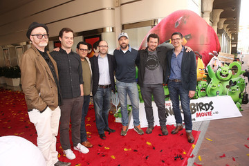 Clay Kaytis Angry Birds Cast Photo Call with Jason Sudeikis, Josh Gad, Danny McBride and Bill Hader