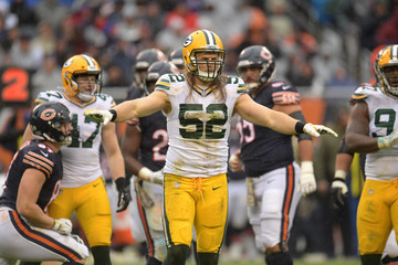 Clay Matthews Green Bay Packers v Chicago Bears