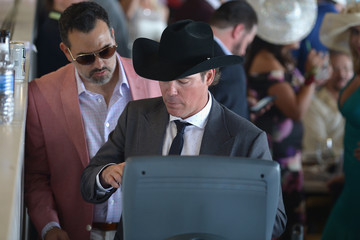 Clay Walker 142nd Kentucky Derby - Celebrities Seen Around Churchill Downs