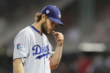 Clayton Kershaw World Series - Los Angeles Dodgers vs. Boston Red Sox - Game One