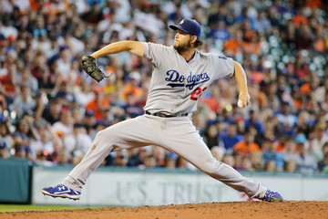 Clayton Kershaw Los Angeles Dodgers v Houston Astros