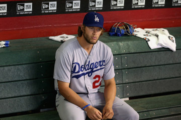 Clayton Kershaw Los Angeles Dodgers v Arizona Diamondbacks