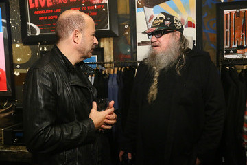 Clayton Patterson John Varvatos And Lisa Robinson Conversation: There Goes Gravity At The John Varvatos 315 Bowery Boutique