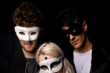 Clean Bandit Backstage at the KISS FM Haunted House Party
