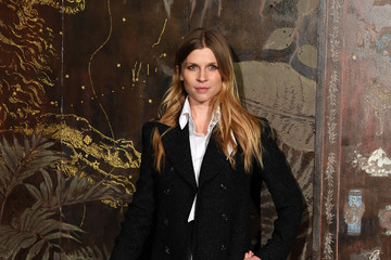 Clemence Poesy Chanel Metiers D'Art 2019-2020 : Photocall At Le Grand Palais