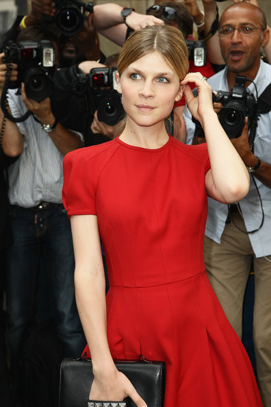 Clemence Poesy - Valentino: Arrivals - Paris Fashion Week Haute Couture F/W 2012/2013