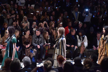 Clemence Posey Burberry Prorsum AW 2015 Front Row And Show