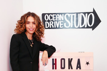 Cleo Wade HOKA ONE ONE Hosts Film And Fitness Event In NYC, Moderated By Poet And Artist Cleo Wade, To Celebrate Latoya Shauntay Snell
