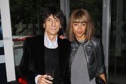 Ronnie Wood and Ana Araujo attend the press night of Cleopatra: Northern Ballet at Sadlers Wells on May 17, 2011 in London, England.