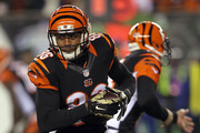James Wright #86 of the Cincinnati Bengals carries the ball during the first quarter of the game against the Cleveland Browns at Paul Brown Stadium on November 6, 2014 in Cincinnati, Ohio.