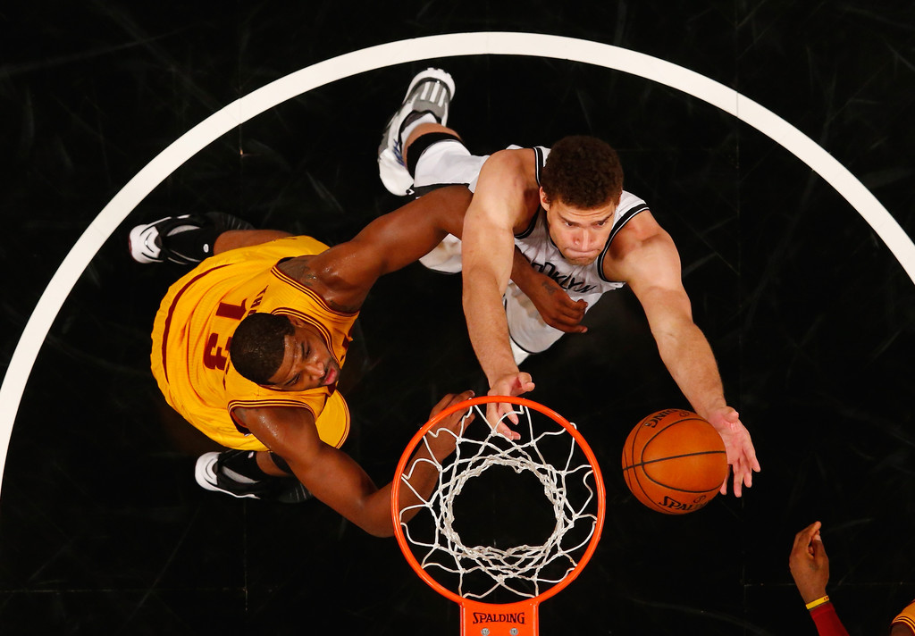 Tristan Thompson in Cleveland Cavaliers v Brooklyn Nets ...