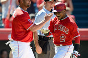 Albert Pujols and Erick Aybar Photos Photo
