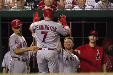 Cliff Pennington Los Angeles Angels of Anaheim v Washington Nationals