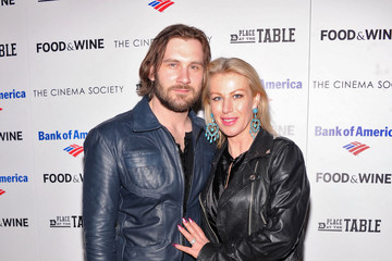 """Clive Standen Francesca Standen Bank Of America And Food & Wine With The Cinema Society Present A Screening Of """"A Place At The Table"""" - Arrivals"""