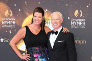 Neal McDonough (R) and Ruve McDonough attend the closing ceremony and Golden Nymph awards of the 58th Monte Carlo TV Festival on June 19, 2018 in Monte-Carlo, Monaco.