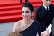 Festival hostess and actress Luisa Ranieri attends the Closing Ceremony of the 71st Venice Film Festival on September 6, 2014 in Venice, Italy.