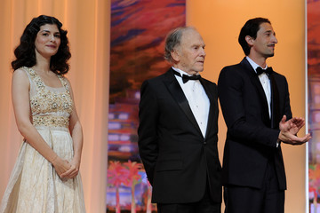 Audrey Tautou Jean-Louis Trintignant Closing Ceremony Inside - 65th  Annual Cannes Film Festival