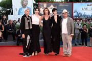 Jonathan Demme, Anita Caprioli, Alix Delaporte, Paz Vega and Fruit Chan attend the closing ceremony and premiere of 'Lao Pao Er' during the 72nd Venice Film Festival on September 12, 2015 in Venice, Italy.