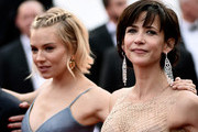 """Actresses Sienna Miller and Sophie Marceau attend the closing ceremony and Premiere of """"La Glace Et Le Ciel"""" (""""Ice And The Sky"""") during the 68th annual Cannes Film Festival on May 24, 2015 in Cannes, France."""