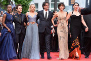 "Official Jury Members Ethan Coen, Rokia Traore, Xavier Dolan, Sienna Miller, Joel Coen, Sophie Marceau and Rossy de Palma attend the closing ceremony and Premiere of ""La Glace Et Le Ciel"" (""Ice And The Sky"") during the 68th annual Cannes Film Festival on May 24, 2015 in Cannes, France."