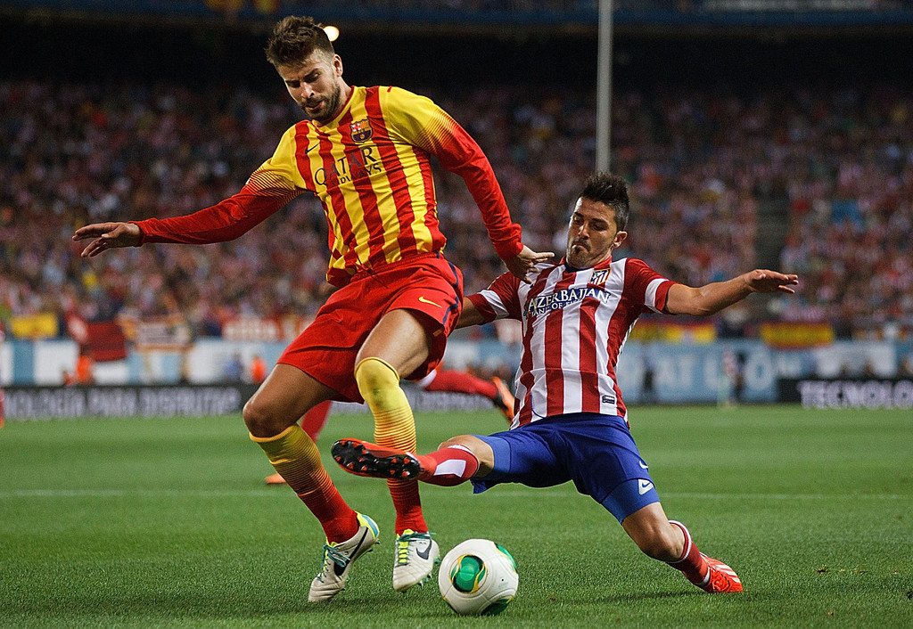club atletico de madrid v barcelona zimbio