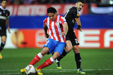 Simao Club Atletico de Madrid v 	Besiktas JK - UEFA Europa League Round of 16