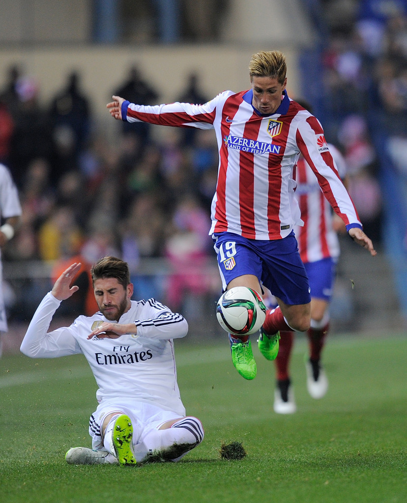 Sergio ramos photos photos club atletico de madrid v - Sergio madrid ...