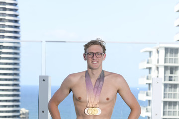 Clyde Lewis Cameron McKevoy Around The Games - Gold Coast 2018 Commonwealth Games Day 8