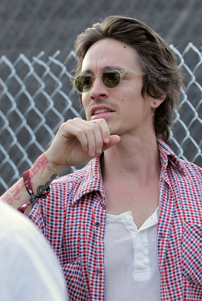 Brandon Boyd Musician Brandon Boyd of the band Incubus backstage during day