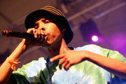 Rapper Tyler The Creator performs onstage during day 1 of the 2013 Coachella Valley Music & Arts Festival at the Empire Polo Club on April 12, 2013 in Indio, California.