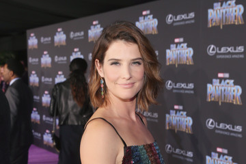 Cobie Smulders The Los Angeles World Premiere of Marvel Studios' 'Black Panther'