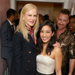 Michelle Kwan and Nicole Kidman Photos