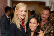 Michelle Kwan and Nicole Kidman Photos Photo