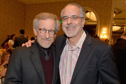 Directors Steven Spielberg and Jon Avnet attend the 14th annual AFI Awards Luncheon at the Four Seasons Hotel Beverly Hills on January 10, 2014 in Beverly Hills, California.