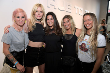 Coco Ho Volcom and Georgia May Jagger Celebrate the Premiere Collection Launch of Volcom x GMJ